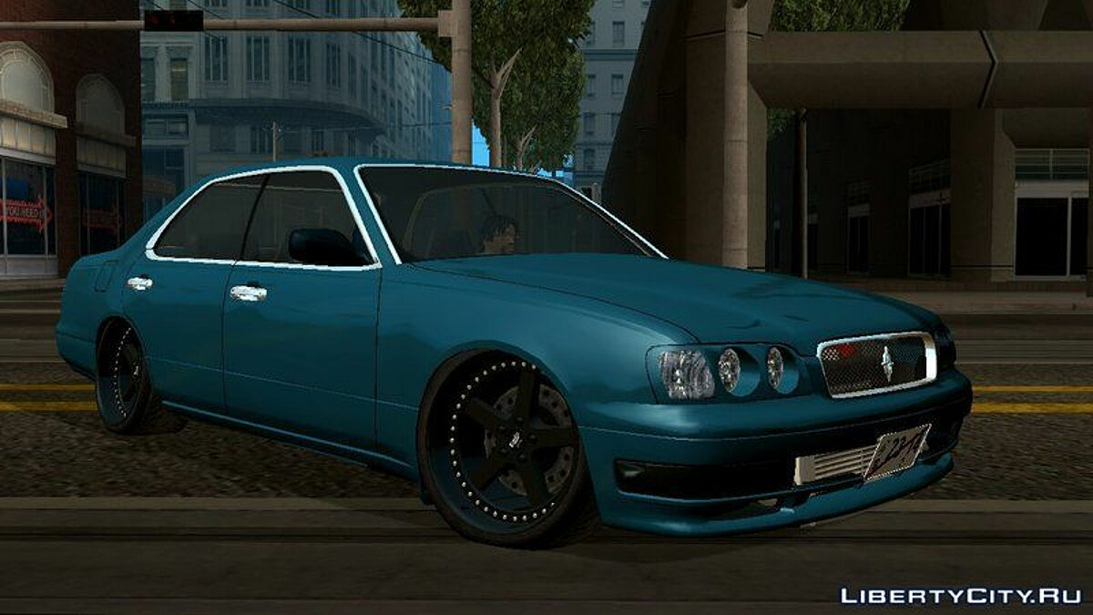 Nissan Cedric Brougham VIP для GTA San Andreas (iOS, Android) - Картинка #4