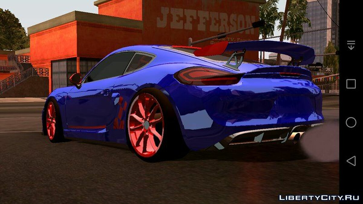 Porsche Cayman RR3 для GTA San Andreas (iOS, Android) - Картинка #2