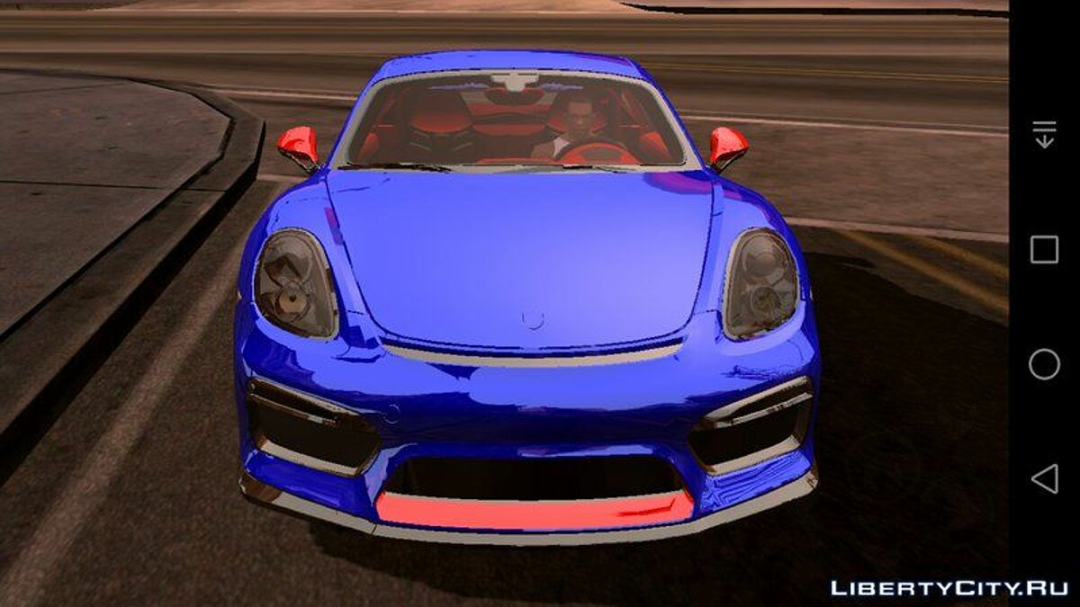 Porsche Cayman RR3 для GTA San Andreas (iOS, Android) - Картинка #1