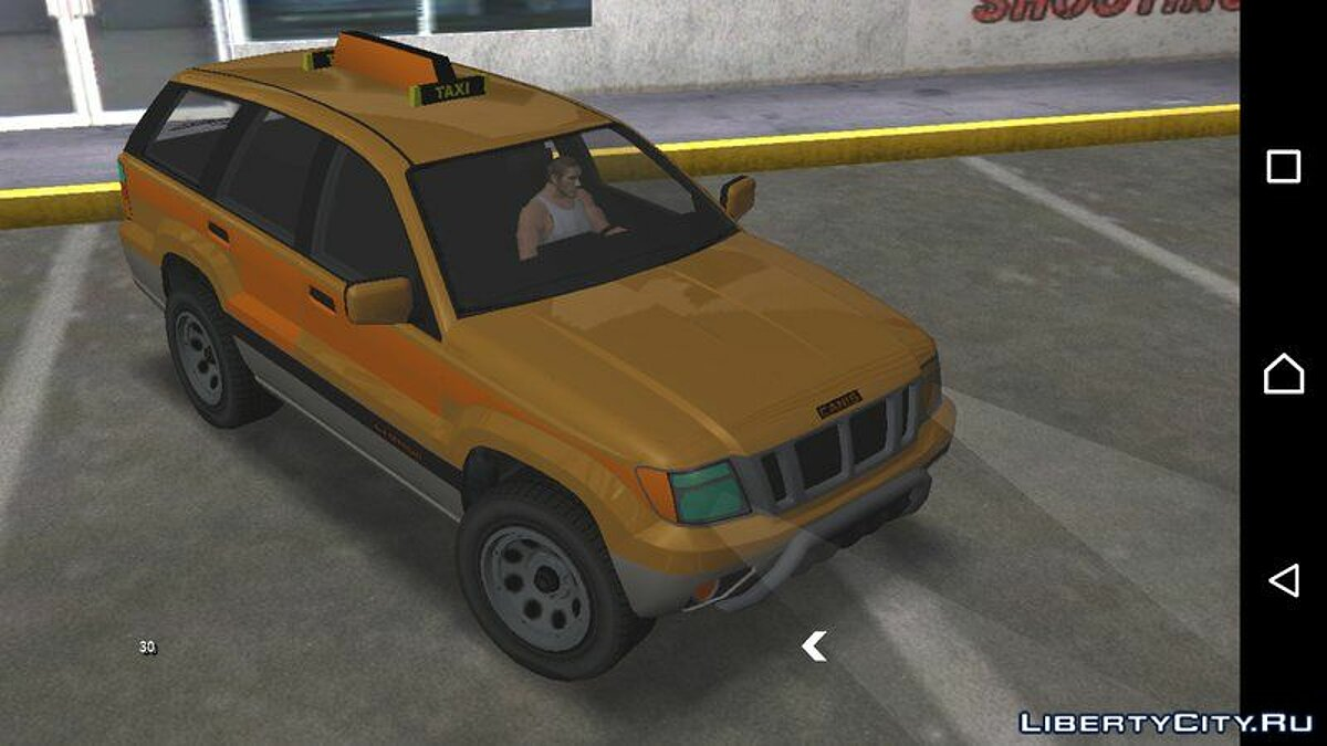 Машина GTA V Canis Seminole Taxi for Android для GTA San Andreas (iOS, Android)