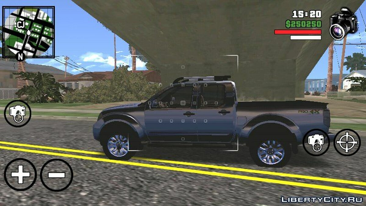 Машина Nissan Frontier для GTA San Andreas (iOS, Android)