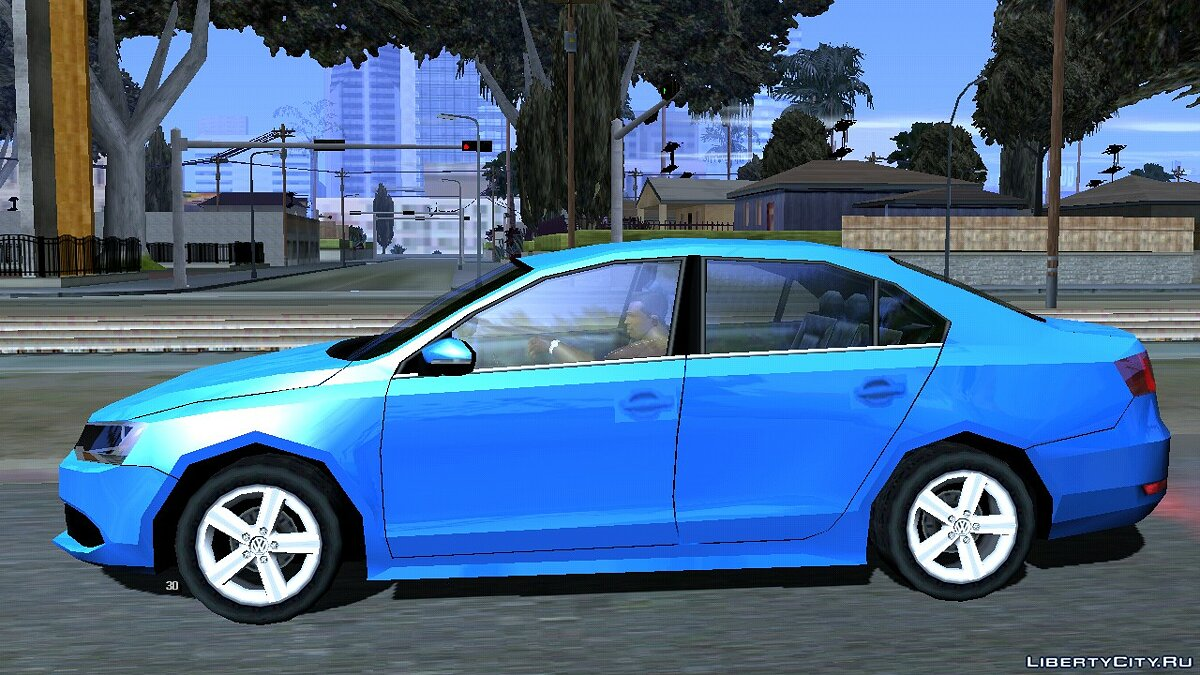 Машина Volkswagen Jetta 2014 (Стиль SA) для GTA San Andreas (iOS, Android)