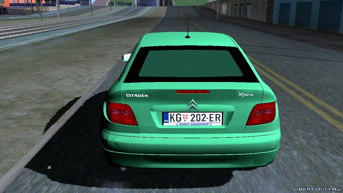 Машина 2004 Citroen Xsara Coupe для GTA San Andreas (iOS, Android)