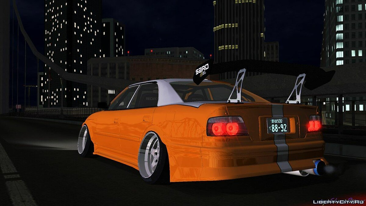 Toyota Chaser Tourer V JZX100 Tuned для GTA San Andreas (iOS, Android) - скриншот #2