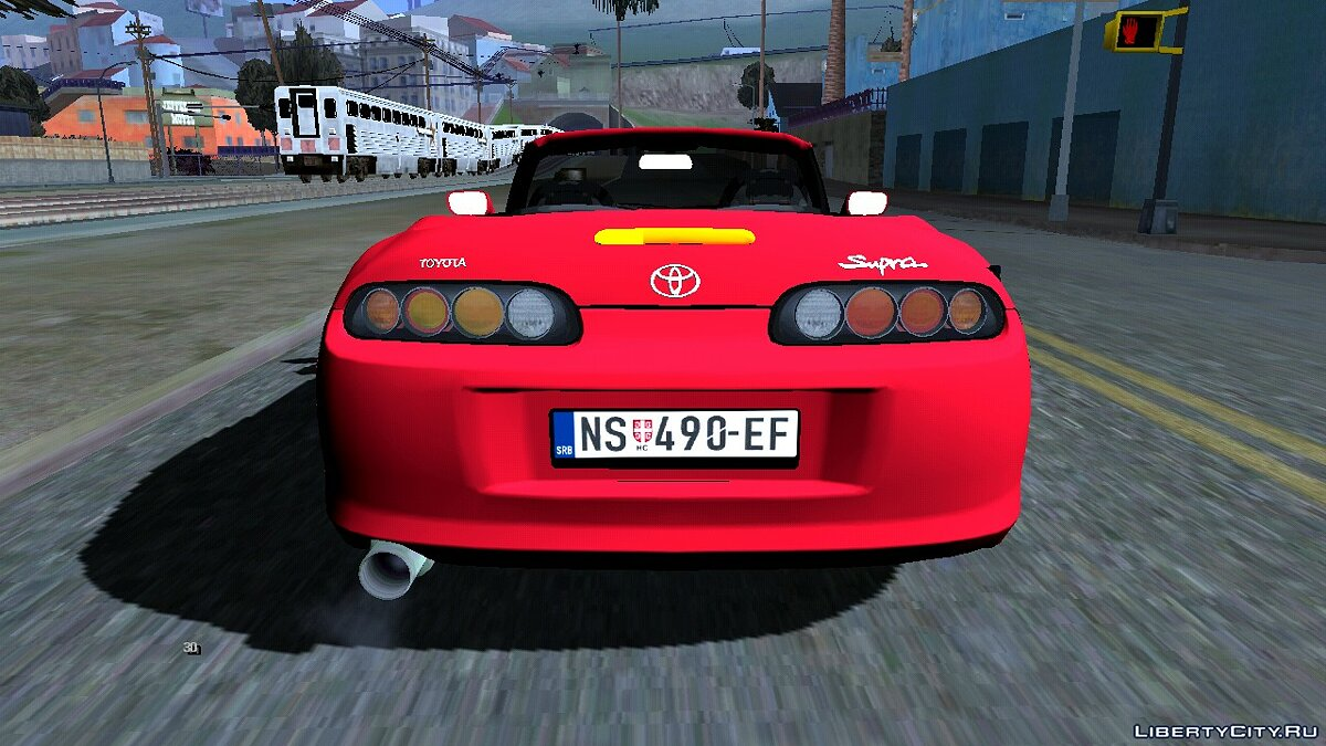 Машина Toyota Supra Cabrio для GTA San Andreas (iOS, Android)