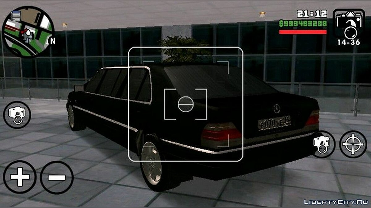 Mercedes Benz S600 Limousine для GTA San Andreas (iOS, Android) - Картинка #2