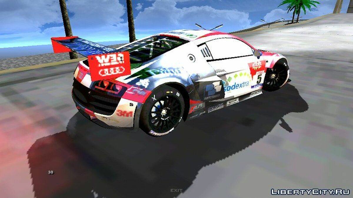 Audi R8 Lms Ultra для GTA San Andreas (iOS, Android) - Картинка #3