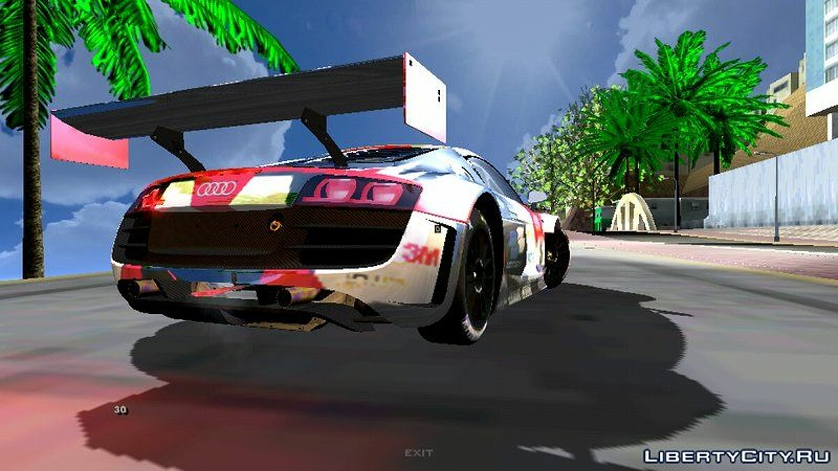 Audi R8 Lms Ultra для GTA San Andreas (iOS, Android) - Картинка #2