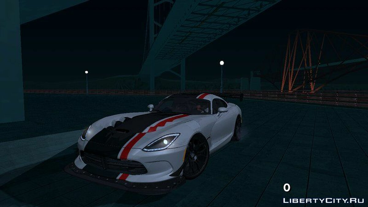 2017 Dodge Viper ACR для GTA San Andreas (iOS, Android) - Картинка #1