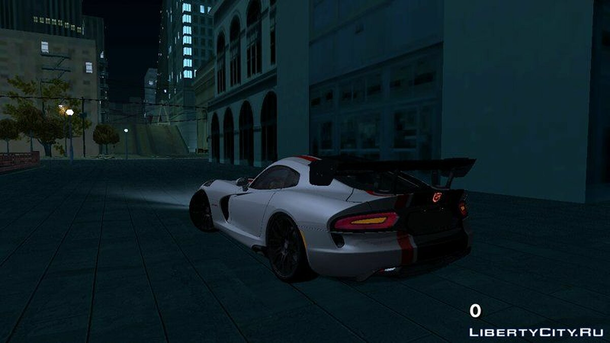 2017 Dodge Viper ACR для GTA San Andreas (iOS, Android) - Картинка #2