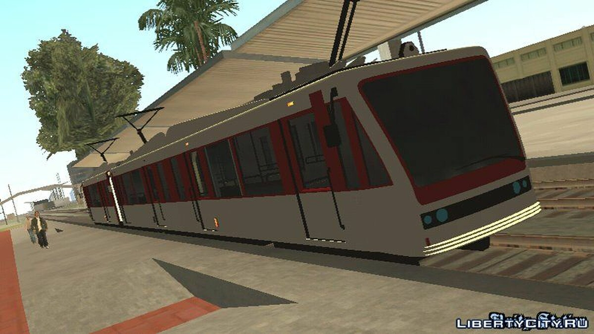 GTA V Transit Train Dff Only For Android для GTA San Andreas (iOS, Android)