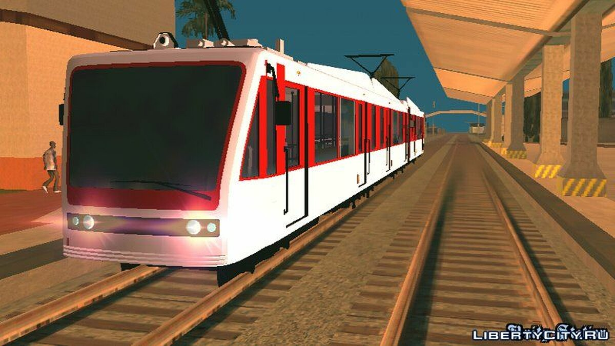 GTA V Transit Train Dff Only For Android для GTA San Andreas (iOS, Android) - скриншот #2