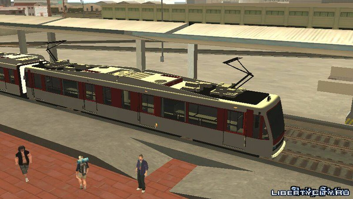 GTA V Transit Train Dff Only For Android для GTA San Andreas (iOS, Android) - скриншот #4