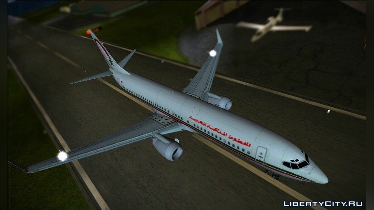 Boeing 737-8B6 Royal Air Maroc (RAM) для GTA Vice City - скриншот #2
