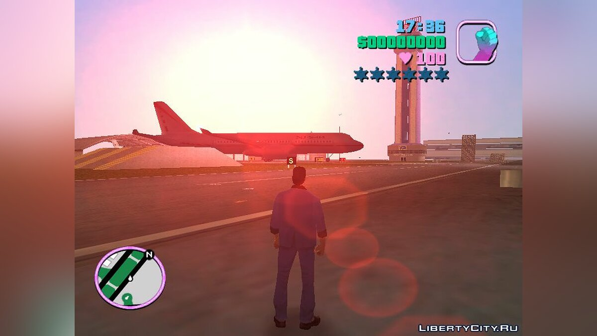 NFS Underground Airplane-object для GTA Vice City - скриншот #6