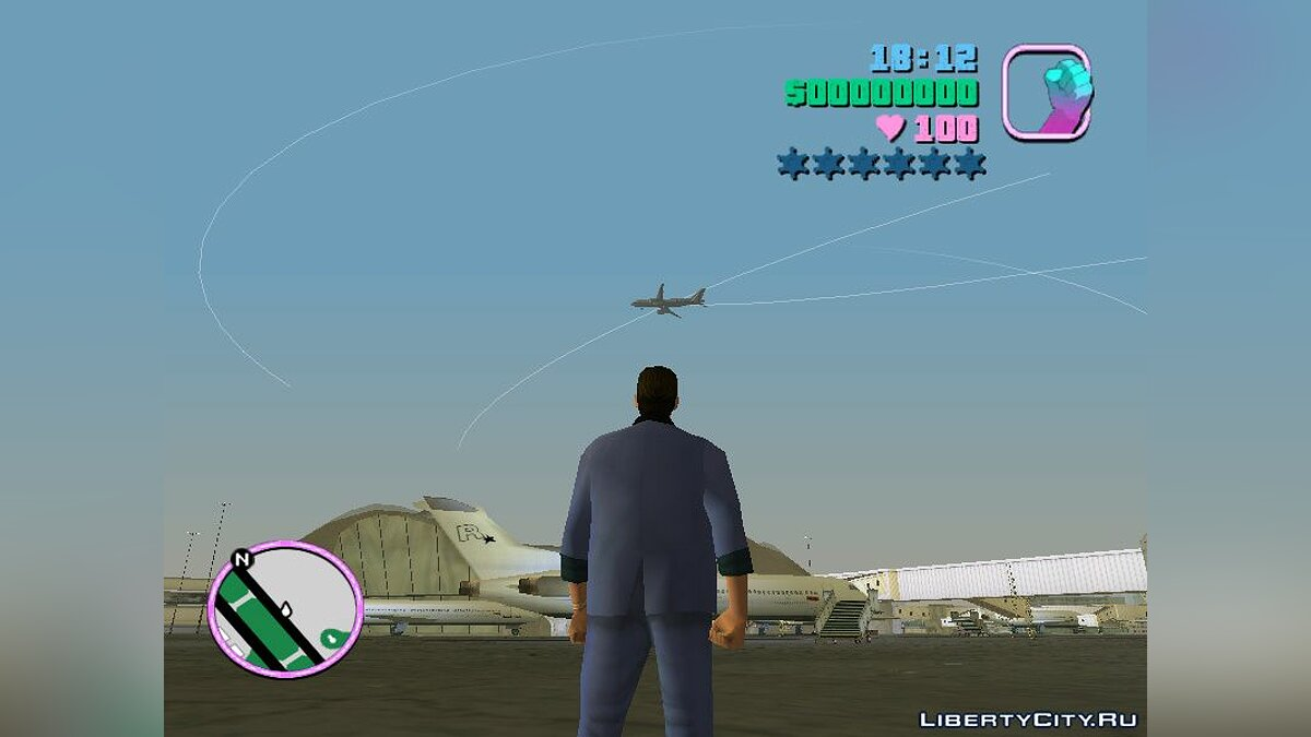 NFS Underground Airplane-object для GTA Vice City - скриншот #7