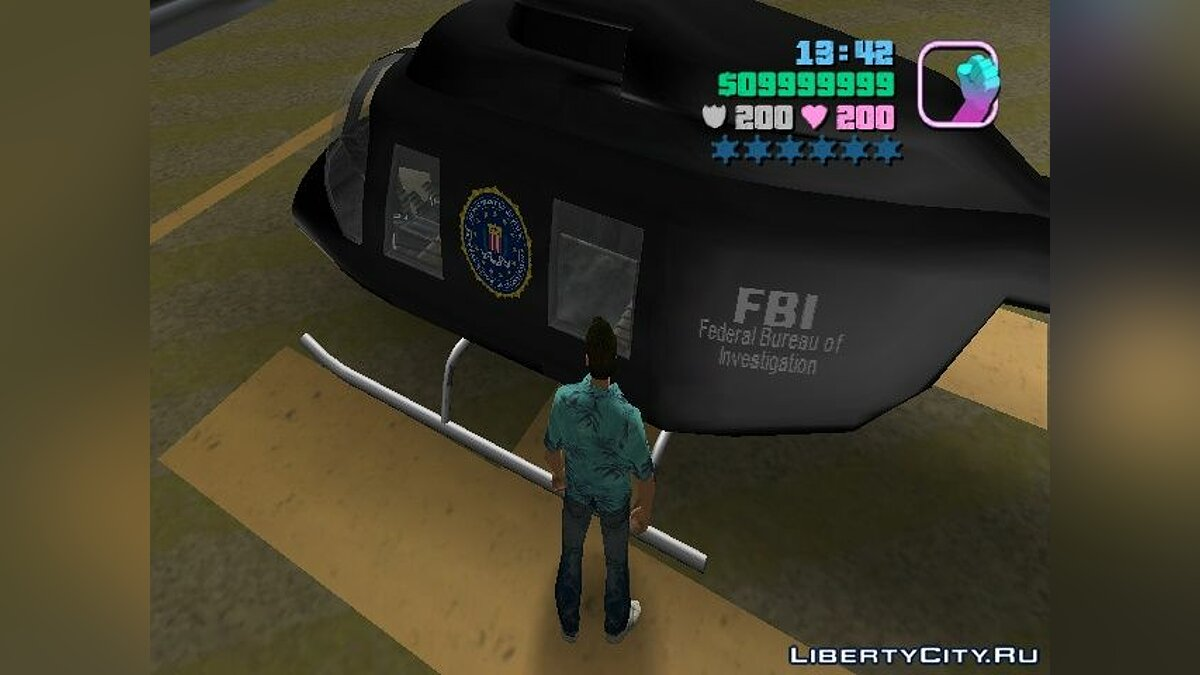 FBI Chopper для GTA Vice City - скриншот #2