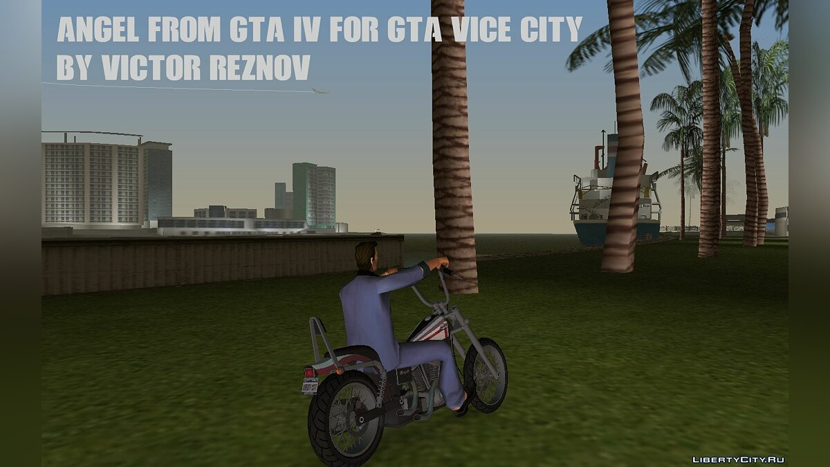 Мотоцикл Angel from GTA IV for GTA Vice City для GTA Vice City