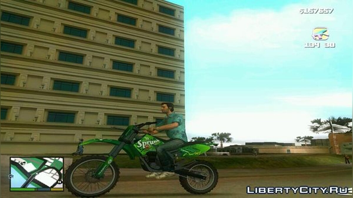 ��отоцикл GTA V Sanchez для GTA Vice City