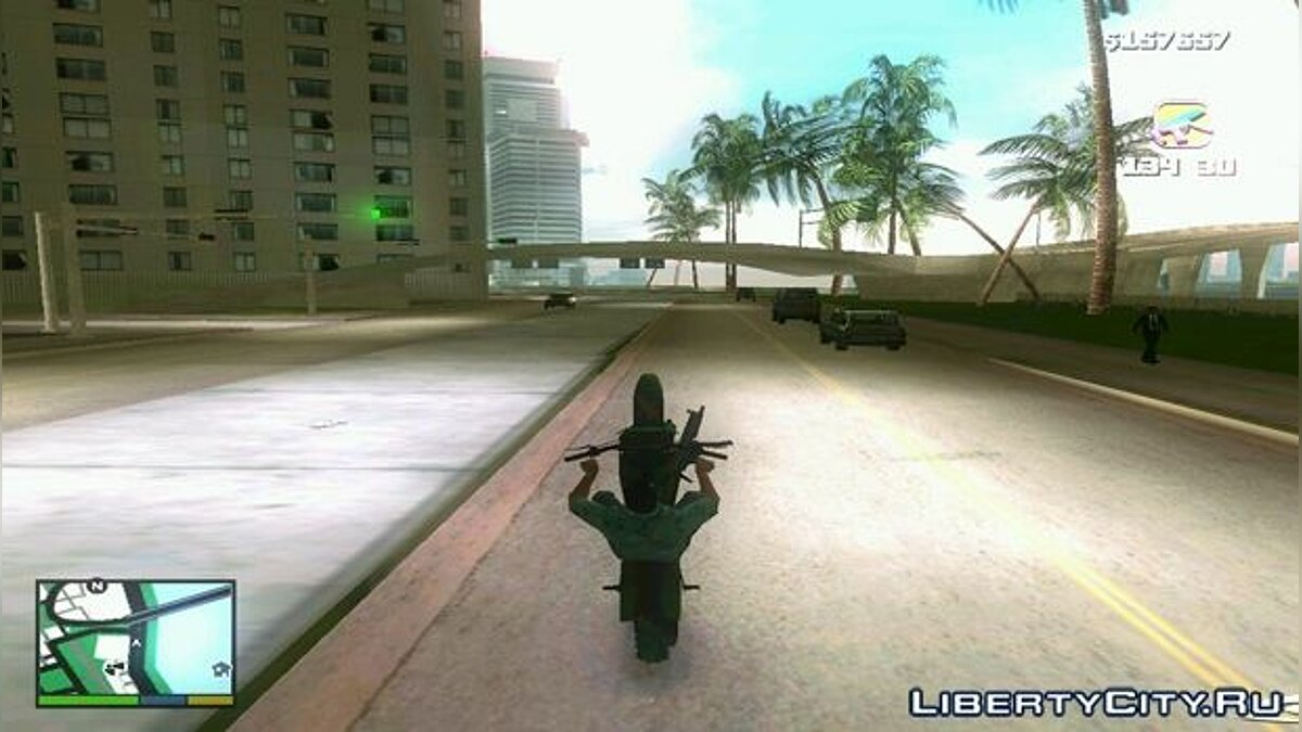 Мотоцикл GTA V Sanchez для GTA Vice City