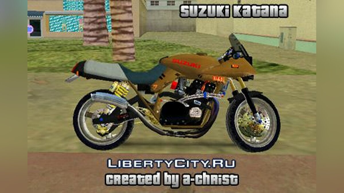 Suzuki Katana для GTA Vice City