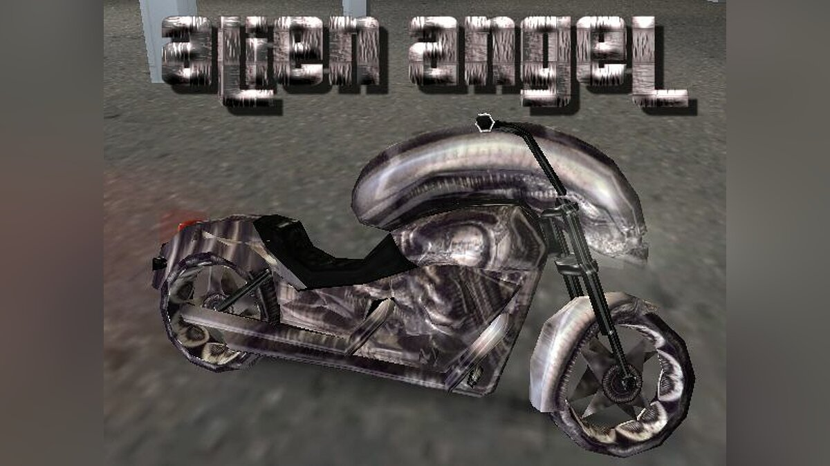 Alien Angel для GTA Vice City