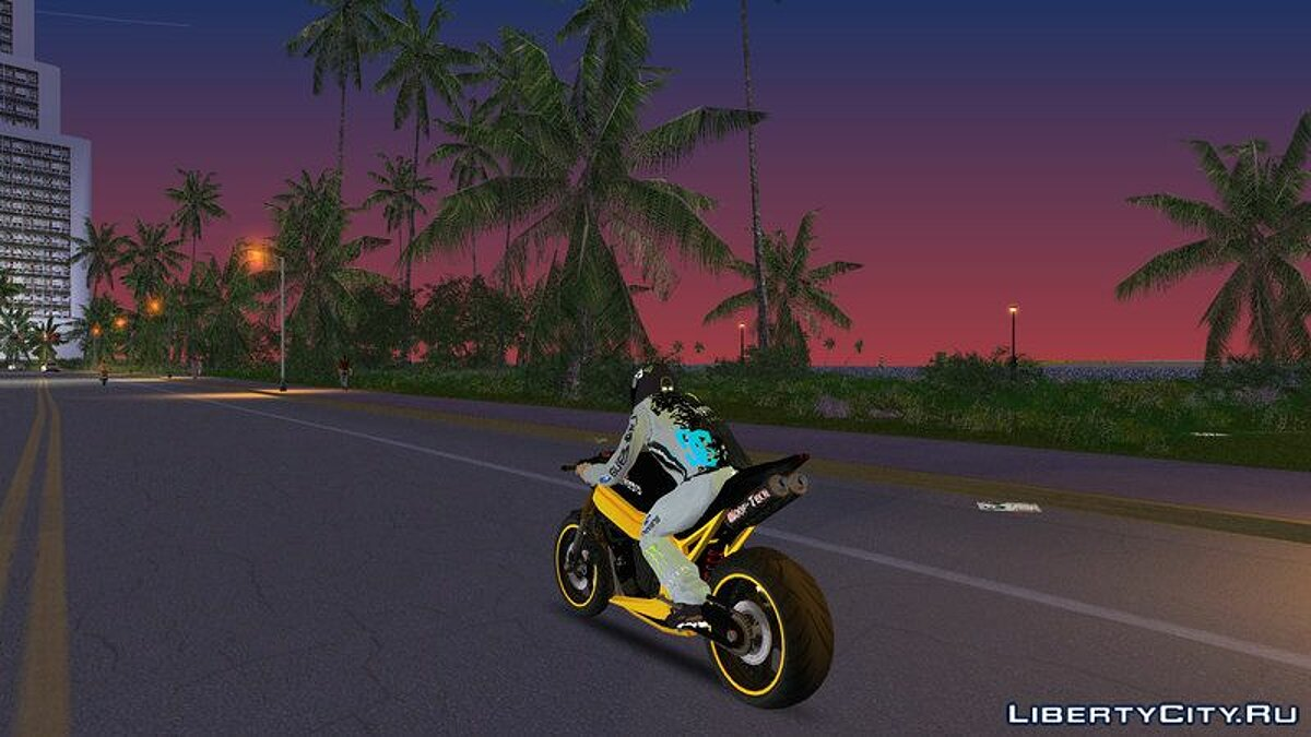 Мотоцикл NRG Nemesis для GTA Vice City