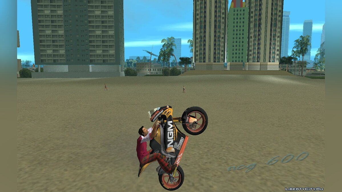 ��отоцикл Мотоцикл NGM Forward team для GTA Vice City