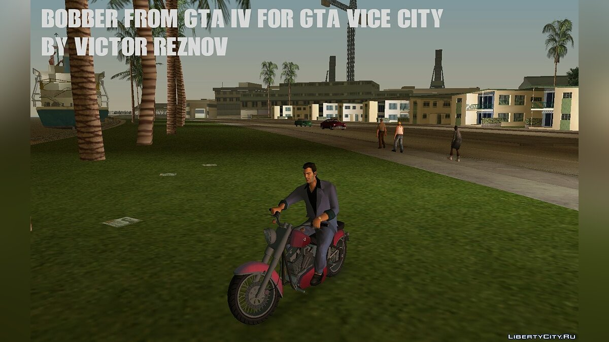 Мотоцикл Bobber from GTA IV for GTA Vice City для GTA Vice City