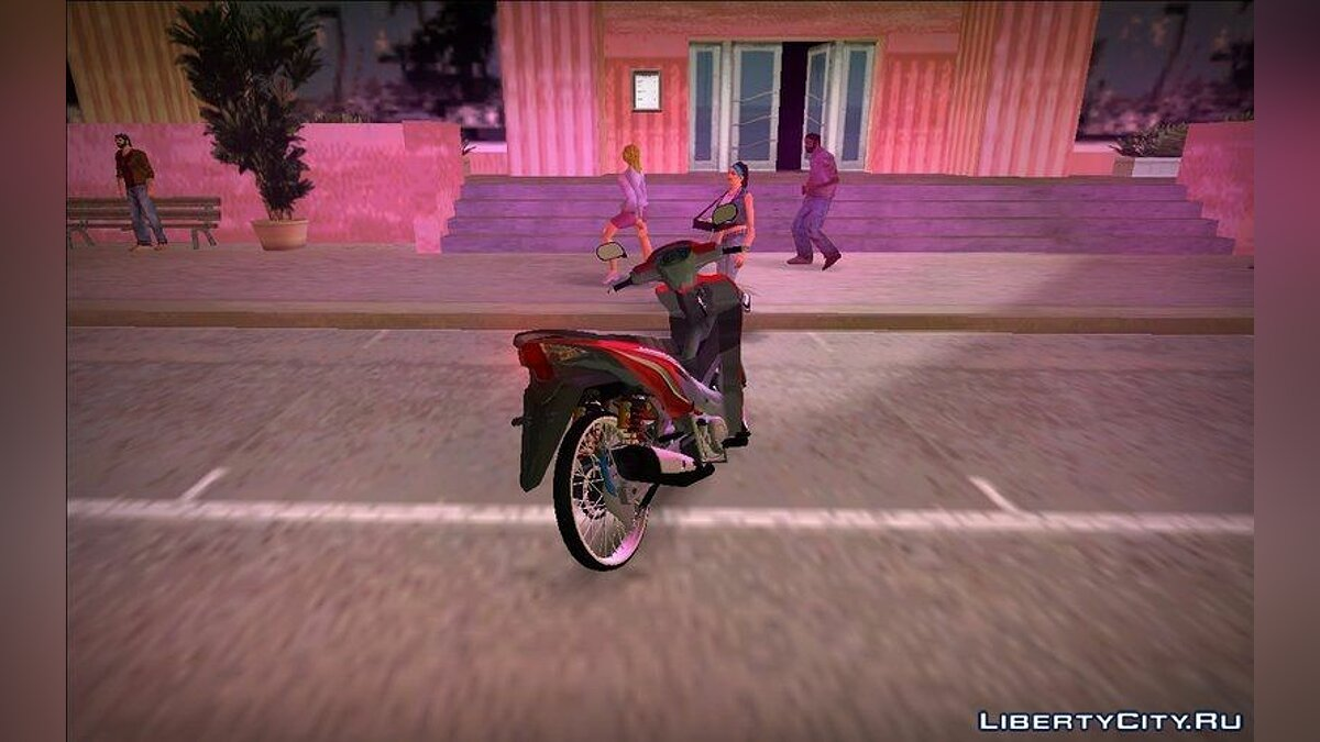 Мотоцикл Absolute Revo для GTA Vice City