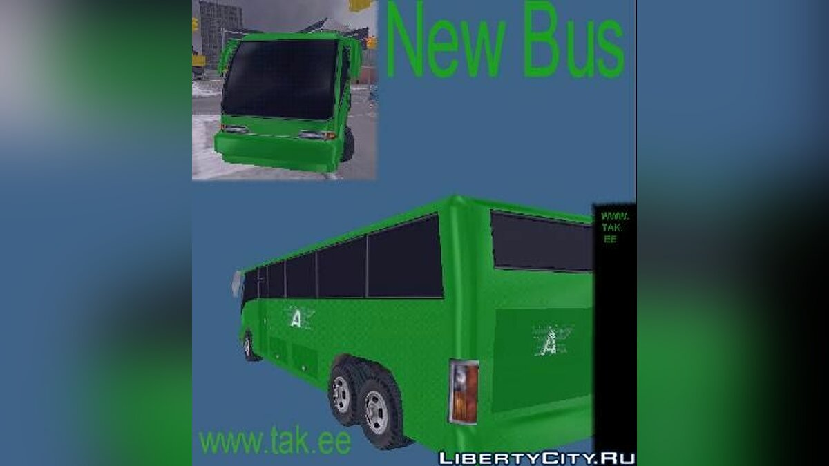 Автобус Tallinna Autobuss Kundis TAK для GTA Vice City