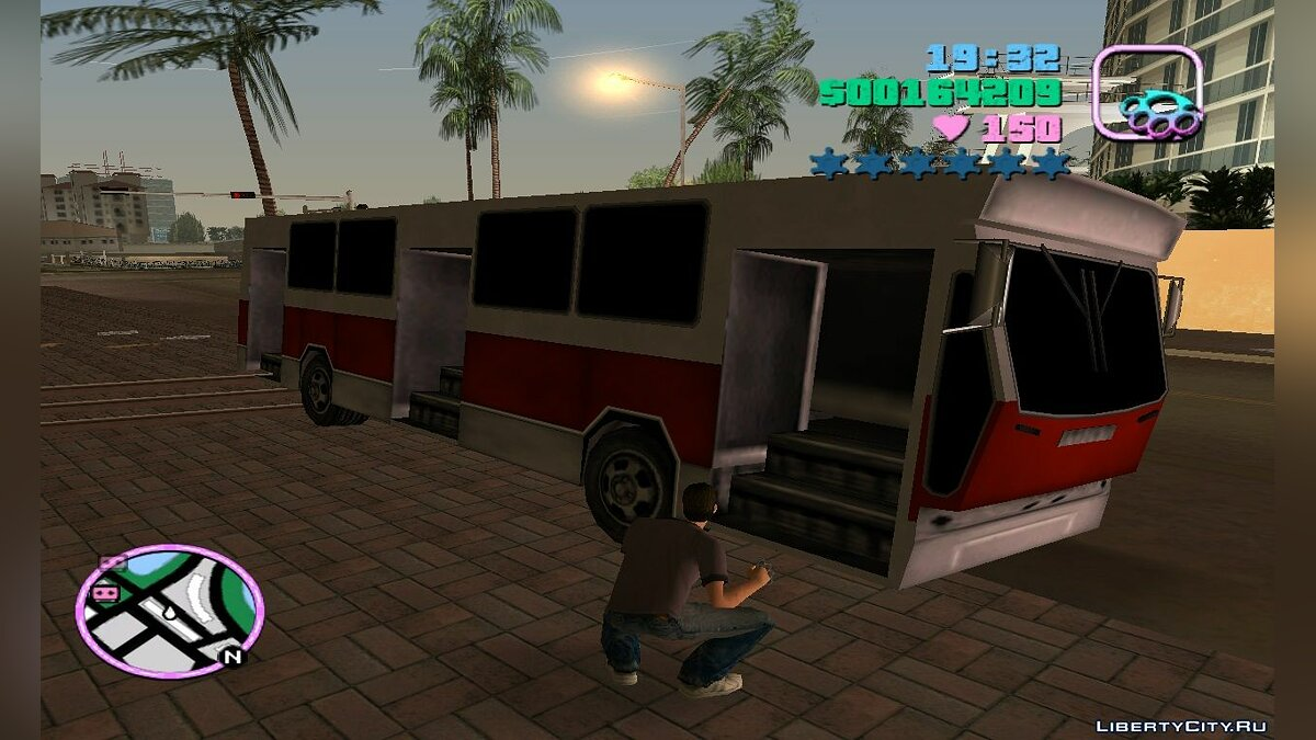 Автобус Jelcz PR110 для GTA Vice City