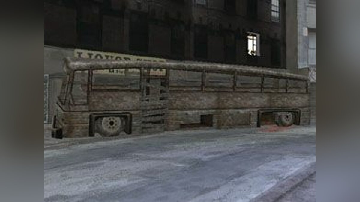 Автобус Manhunt Coach для GTA Vice City