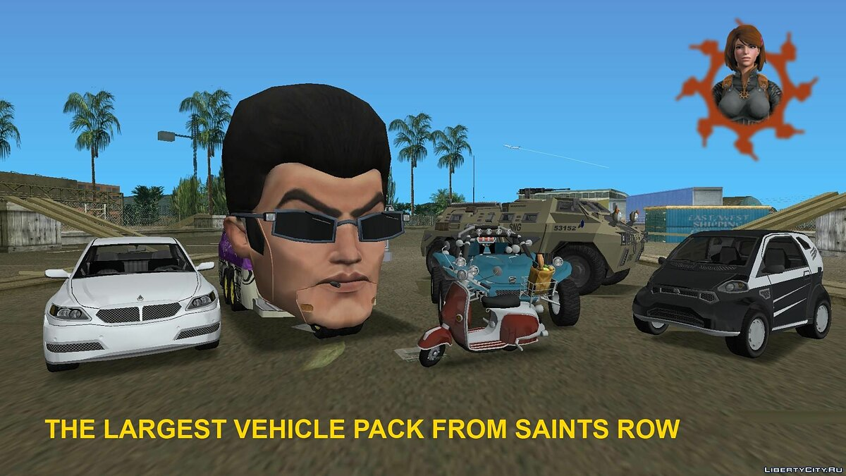 Сборник машин Saints Row The Third and IV Vehicle Pack для GTA Vice City