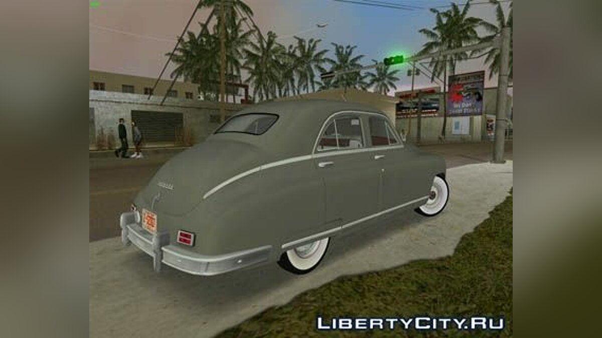 Packard Standard Eight Touring Sedan 1948 для GTA Vice City - скриншот #2