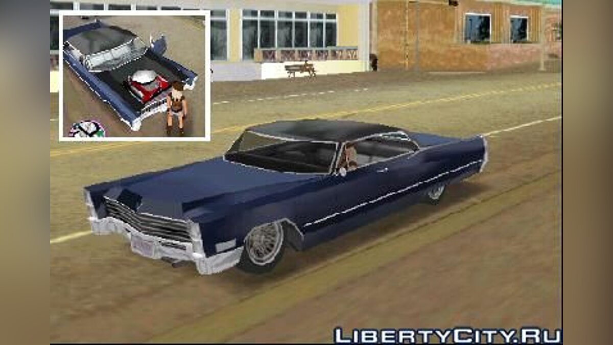 1967 Cadillac DeVille Lowrider для GTA Vice City