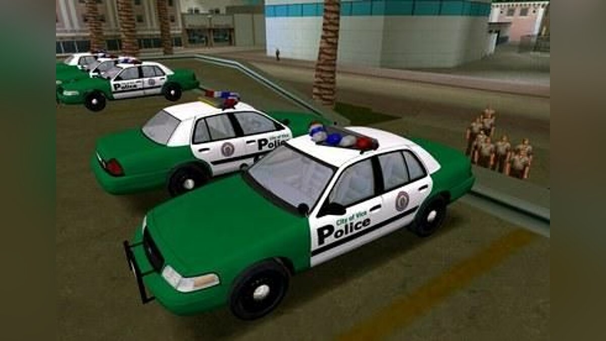 2003 Ford Crown Victoria VCPD для GTA Vice City