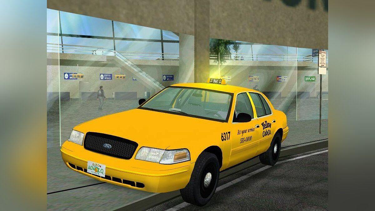 2003 Ford Crown Victoria Taxi для GTA Vice City