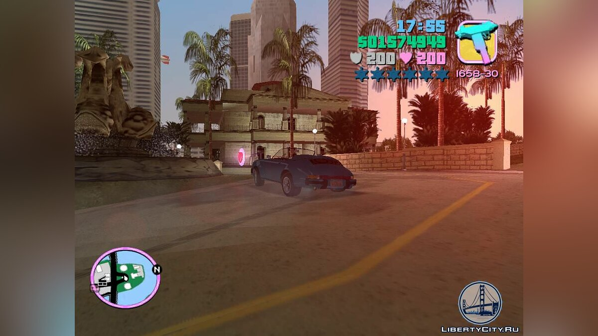 Porsche 911 Speedster для GTA Vice City