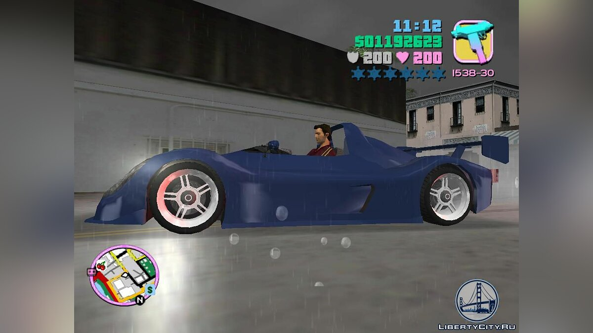 Radical SR3 для GTA Vice City - Картинка #1