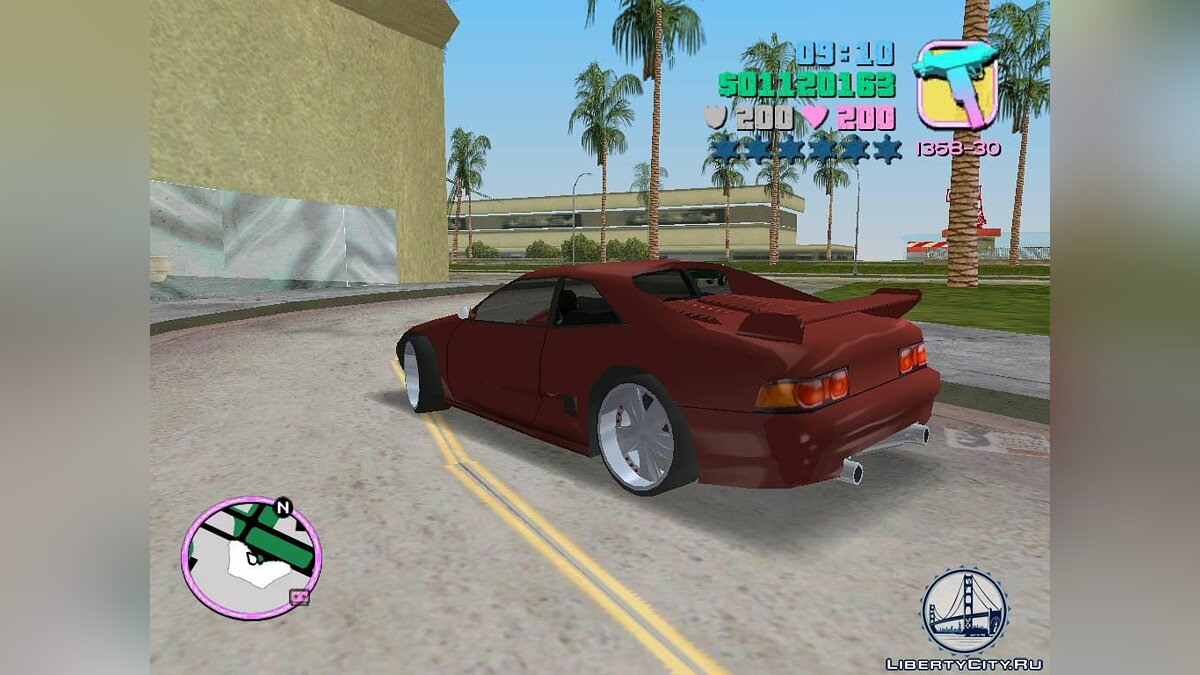 Toyota MR2 MKII для GTA Vice City