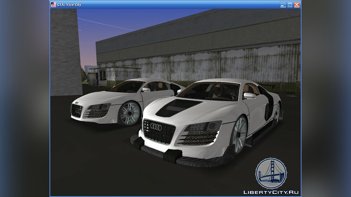 Audi Le Mans для GTA Vice City