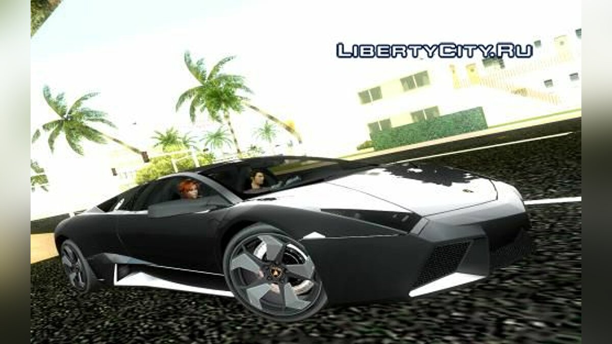 Lamborghini Reventon для GTA Vice City - Картинка #1