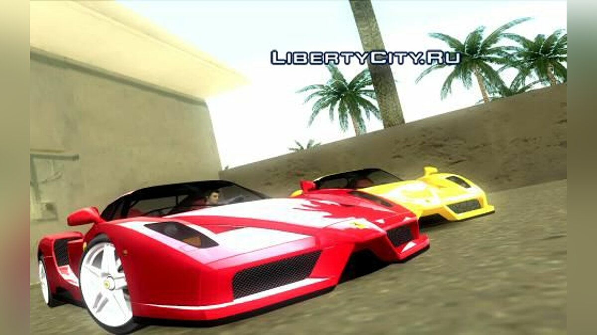 Ferrari Enzo для GTA Vice City