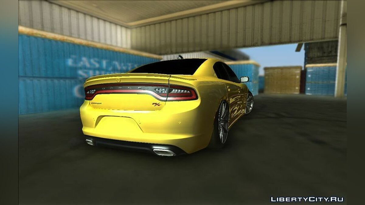 2015 Dodge Charger R/T для GTA Vice City - скриншот #2
