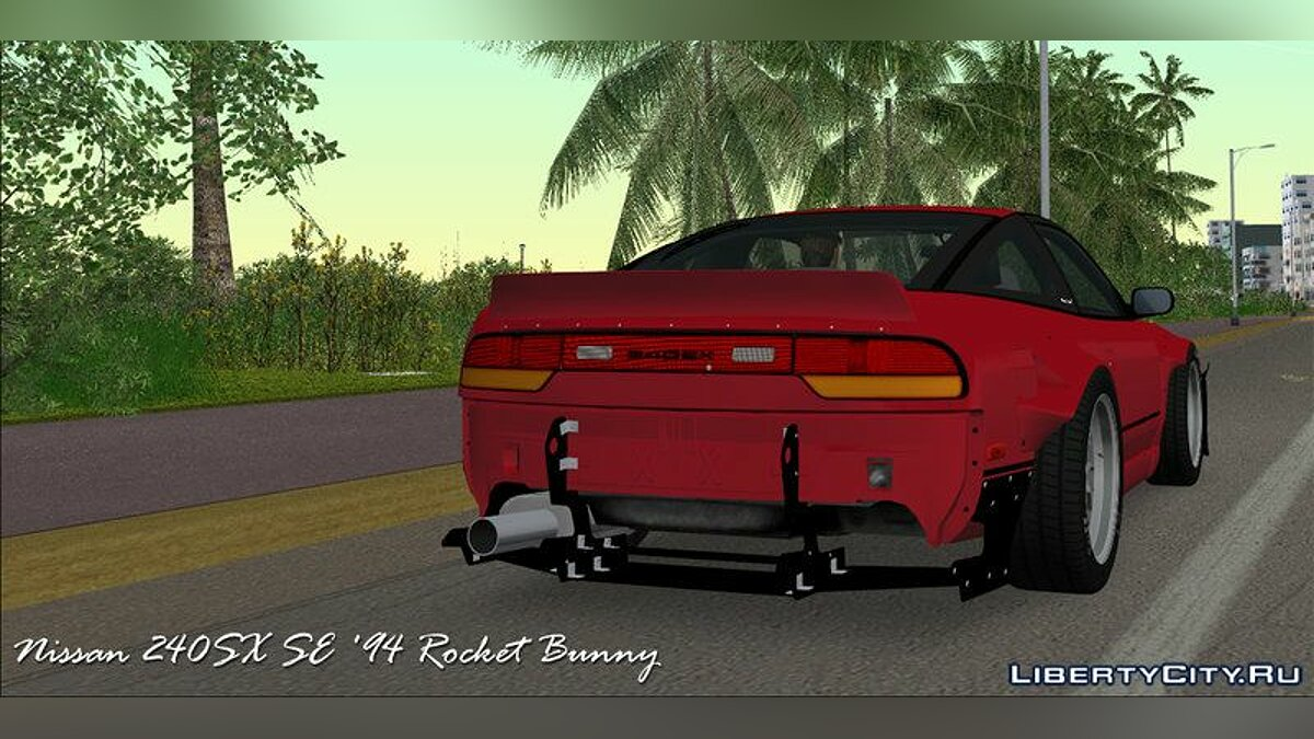 Nissan 240SX SE '94 Rocket Bunny для GTA Vice City - Картинка #1
