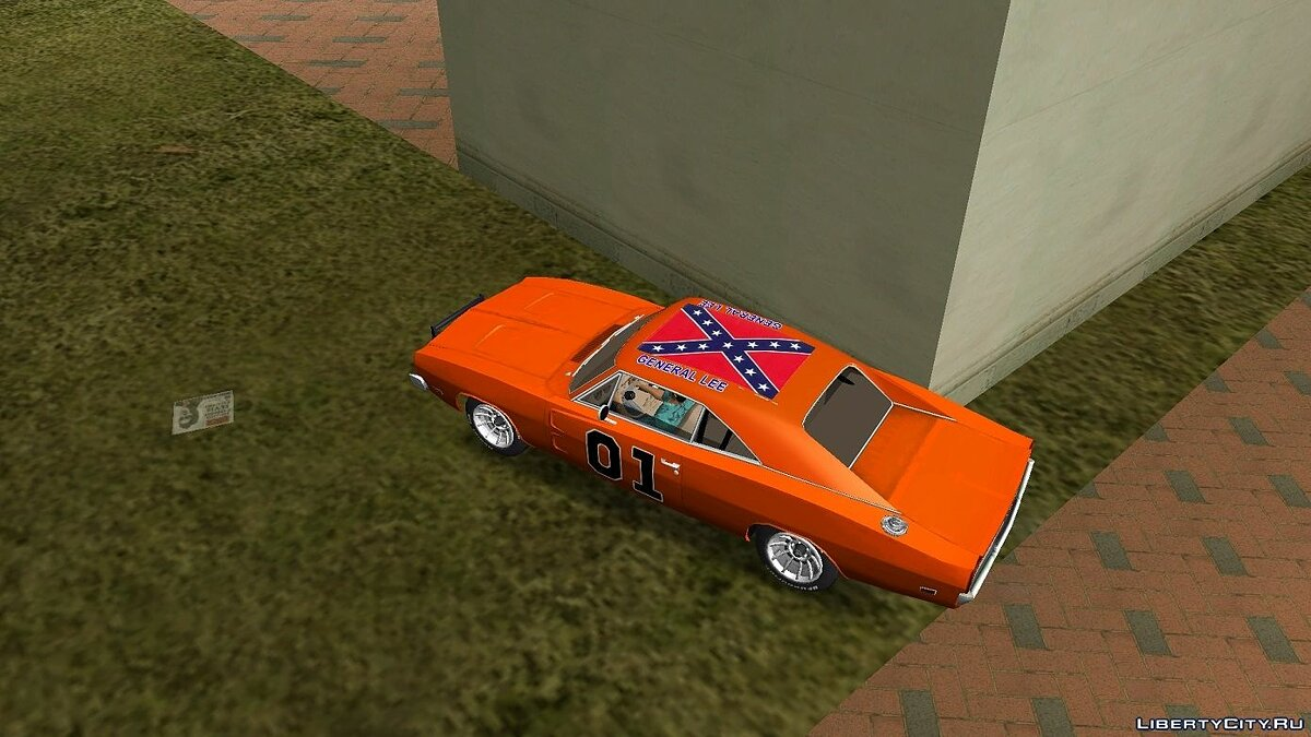 Dodge Charger 1969 General Lee для GTA Vice City - скриншот #2