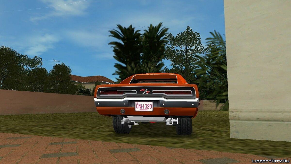 Dodge Charger 1969 General Lee для GTA Vice City - скриншот #3