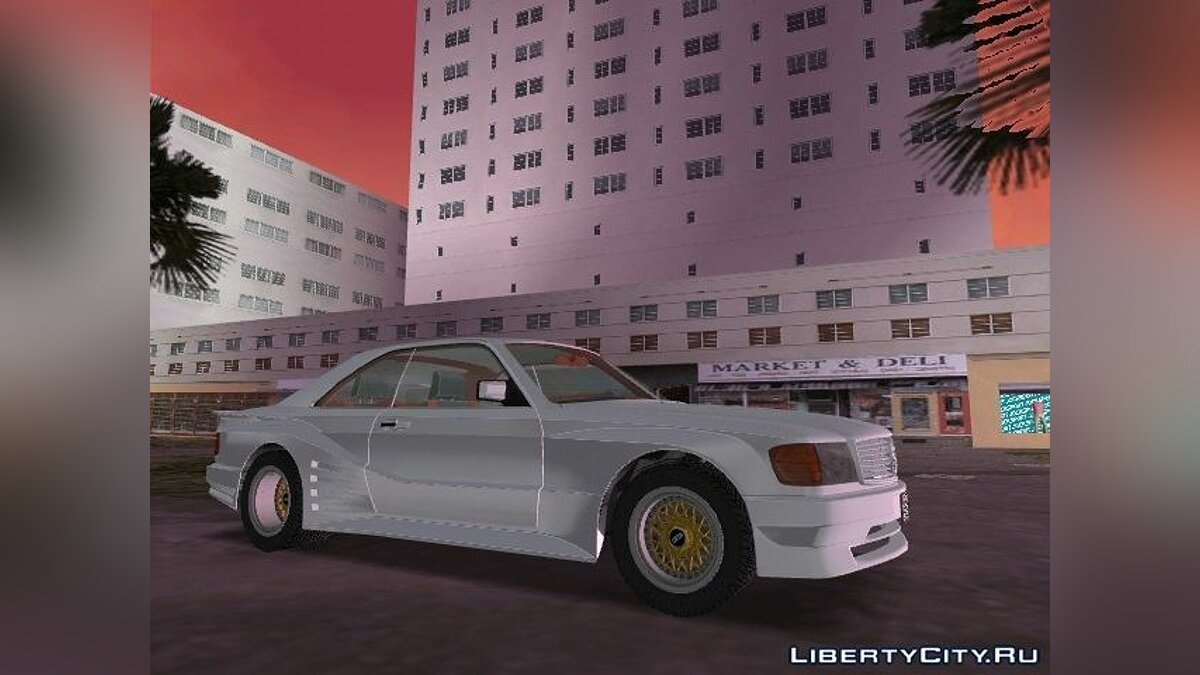 ��ашина Mercedes-Benz 500SEC (C126) Koenig-Specials 1989 для GTA Vice City