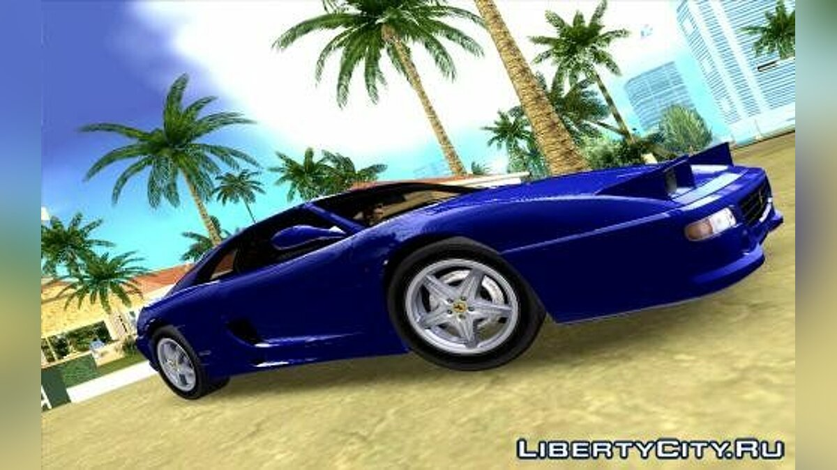 Машина Ferrari F355 для GTA Vice City